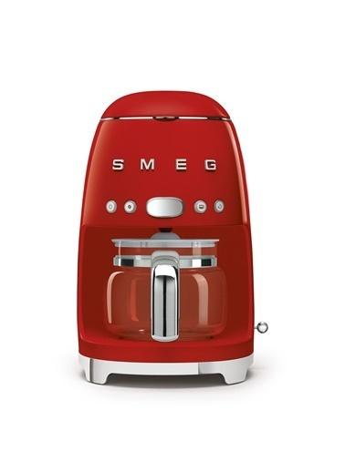 Smeg Dcf02Rdeu Retro Kırmızı 1.4 Litre 10 Bardak Filtre Kahve Makinesi Kırmızı